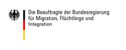 Logo: Die Beauftrage der Bundesregierung für Migration, Flüchtlinge und Integration