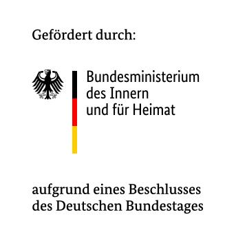 Logo: Bundesministerium des Innern, für Bau und Heimat